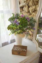 Bridal suite vanity