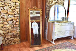 Large Mirror and Buffet