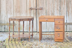 Side Table and Desk