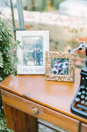 picture decor for wedding