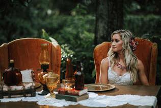 eclectic boho wedding