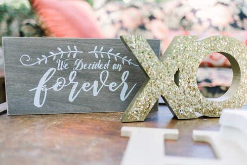 wedding signs decor