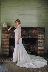 fireplace wedding pictures