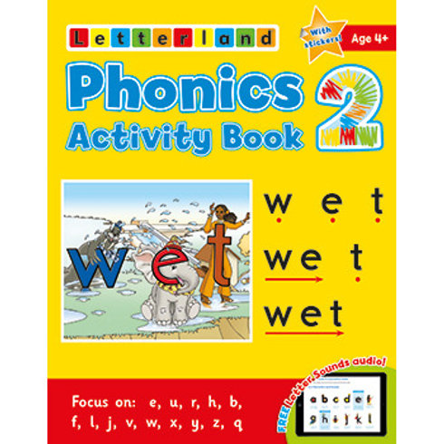 Phonics Activity Book #2