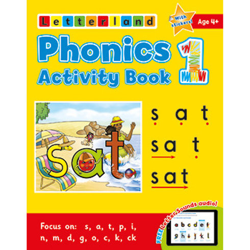 Phonics Activity Book #1
