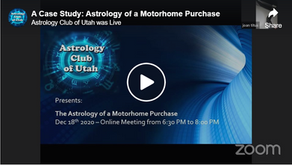A Case Study: Astrology of a Motorhome Purchase