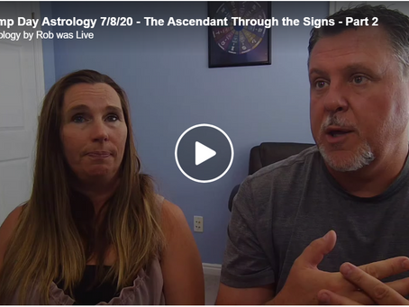 Hump Day Astrology 7/8/20 - The Ascendant Through the Signs - Part 2