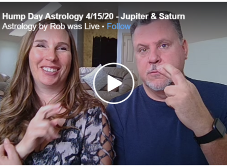 Hump Day Astrology 4/15/20 - Jupiter & Saturn