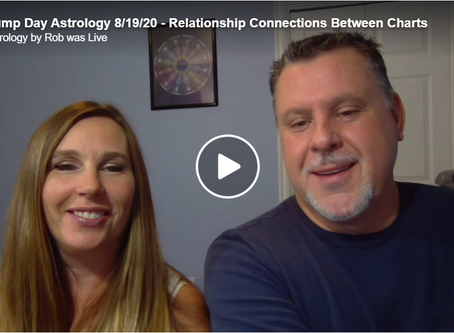 Hump Day Astrology 8/19/20 - Relationship Connections Between Charts