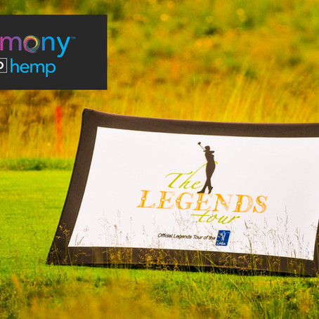 Harmony Hemp First CBD Product to Sponsor Legends Tour