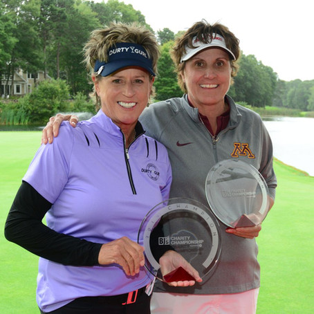 Jones, Redman combine for BJ's Charity Championship win