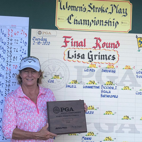 Minnesota's Lisa Grimes Wins PGA Women's Stroke Play Championship for Second Time