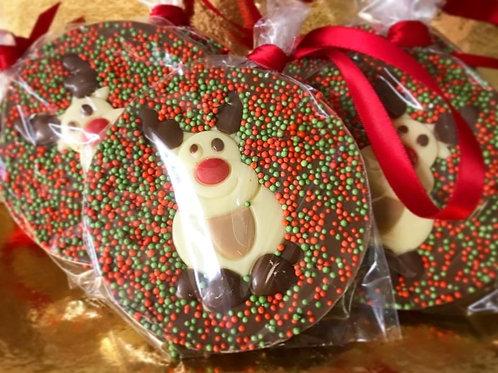 Milk Chocolate Reindeer Tree Hanger