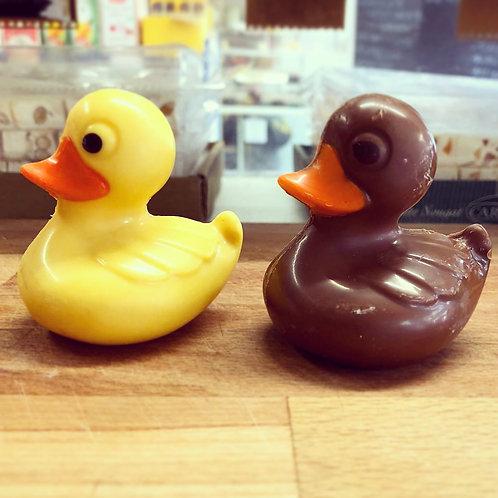 Chocolate Rubber Ducks