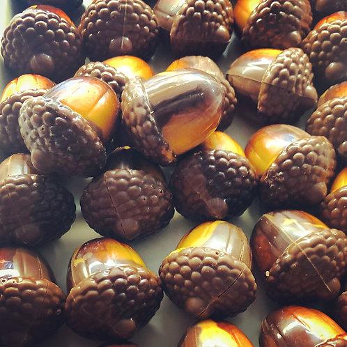 Milk Chocolate Praline Acorns