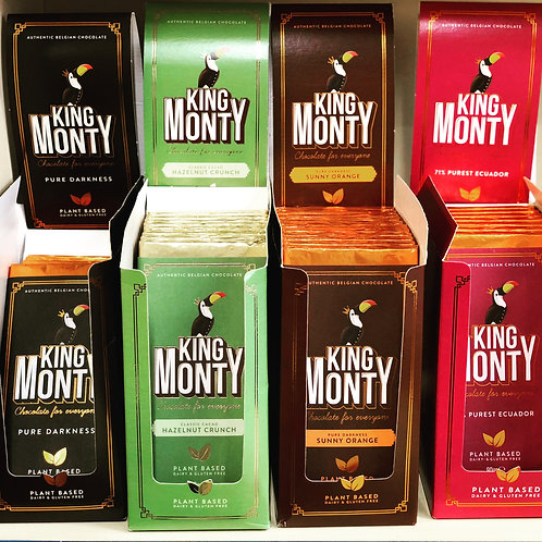 King Monty Gluten & Dairy Free Bars