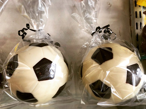 Large White Chocolate Football