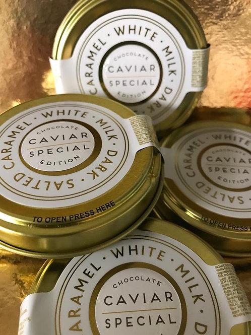 Chocolate Caviar Tin