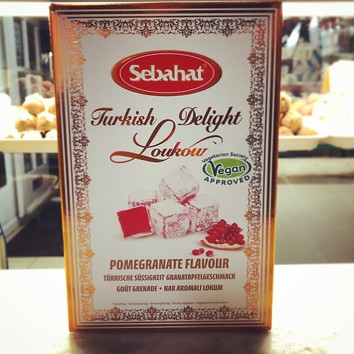 Pomegranate Turkish Delight Gift Box