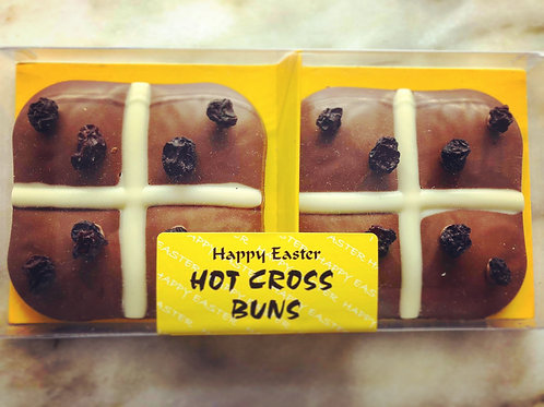 Milk Chocolate Hot Cross Buns