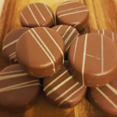 Milk Chocolate Honey Crunch