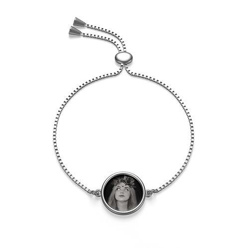 Mallory Welch Black Metal Box Chain Bracelet
