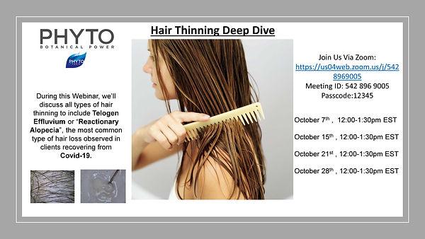 Hair Thinning Deep Dive October Flyer.jp