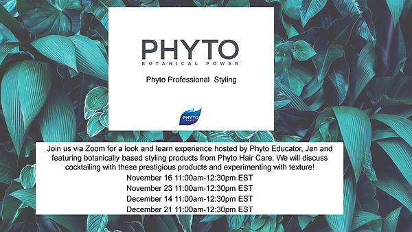Phyto Professional Styling November_Dece