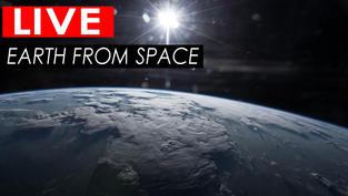 Une vue exceptionnelle en live depuis la station spatiale internationale avec sa position sur la carte.. Cliquez sur la photo pour lancer le live..