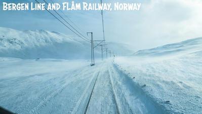 Embarquez à bord d'un train traversant les paysages de la Norvège.. Une caméra live insolite et à la fois pleine de découvertes.. Bon visionnage.