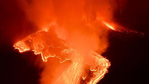 L'Etna: une éruption spectaculaire