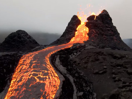 Islande, un volcan se réveille