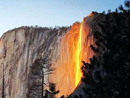 La cascade de feu
