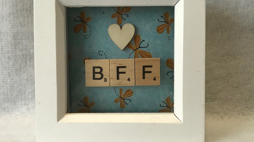 Best Friends Forever, 10cm sq
