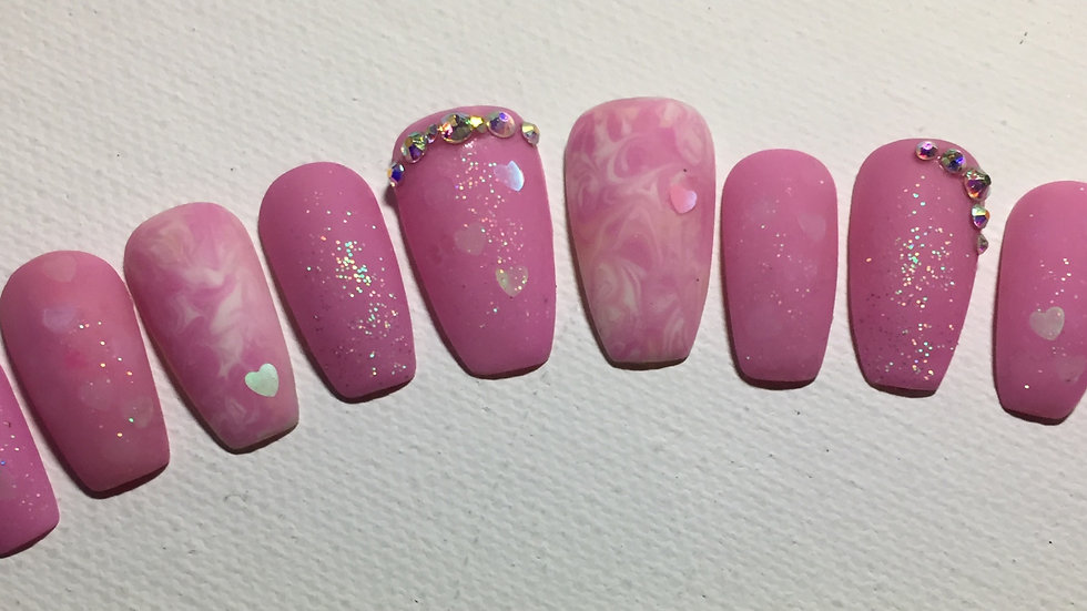 2, Pink Marble