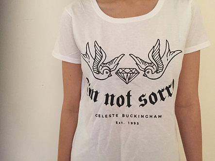 "Women Power T-Shirt ""I'm Not Sorry"""