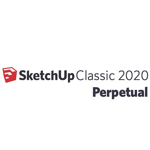 SketchUp Pro 2020 Single User Classic Perpetual License
