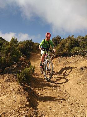 mountainbike tour auf la gomera