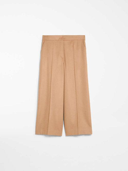 Pantalón de lana - camel