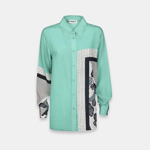 Camisa ligera estampada