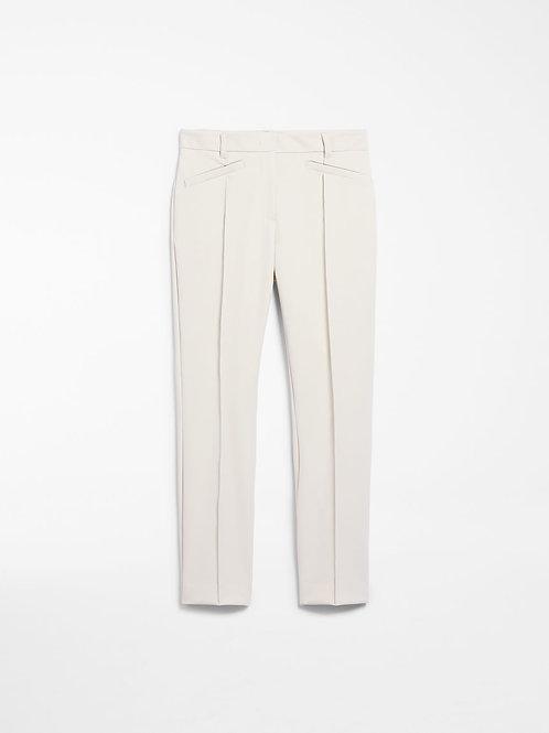 Pantalón de mezcla de lana - crudo