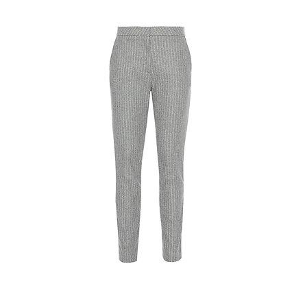 Pantalón gris raya diplomática