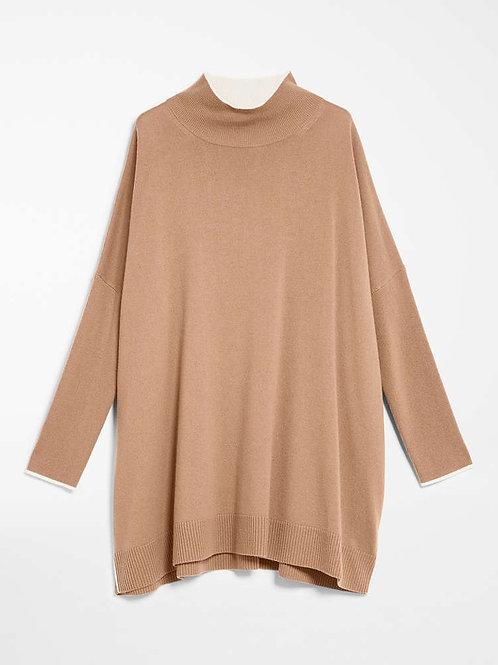 Jersey de  lana y cachemira - camel