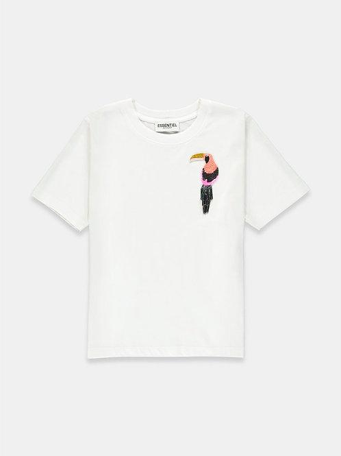 Camiseta blanca tucán