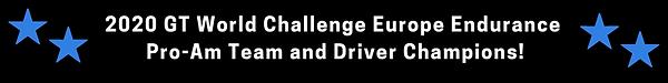 2020 GT World Challenge Europe Endurance