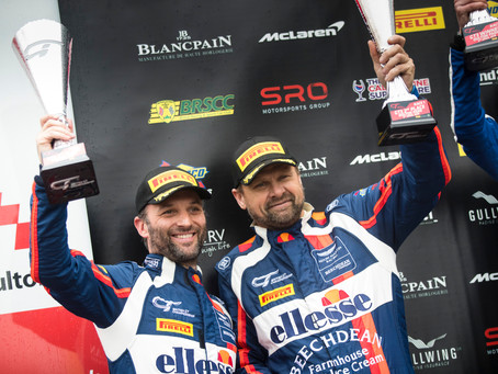 Turner off to a flying start in British GT