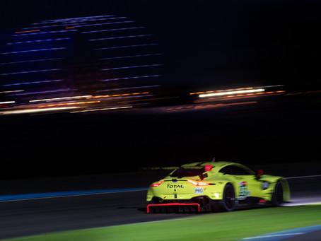 New Vantage GTE makes positive Le Mans debut