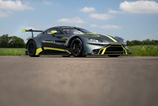 Beechdean ready to race the brand new Vantage GT3!