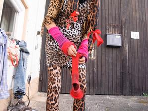 Leopardenpose für Hedi