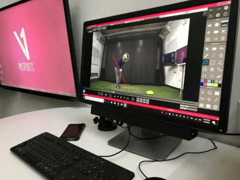 V1 online lessons Grant Griffiths Golf